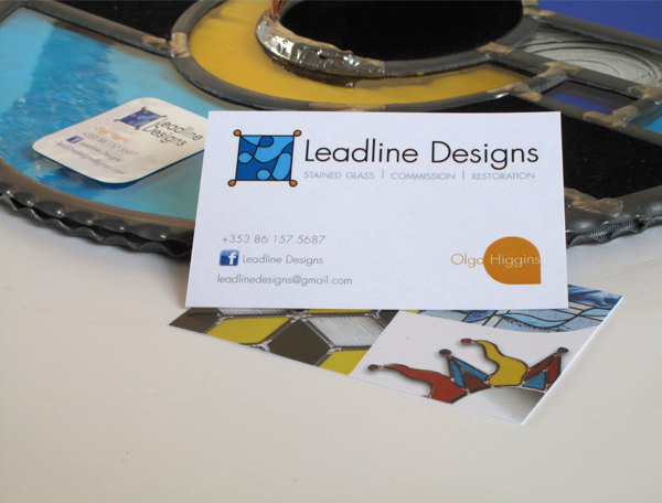 Leadline Designs business card