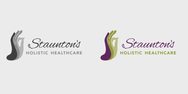 View Stauntons branding project